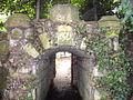 Tunnel from Gardens to Waitrose Car Park Saffron Walden - geograph.org.uk - 1373821.jpg