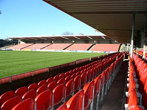 Turners Cross (stadium) - Picture of Turners Cross, taken by Hugh Mansfield