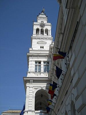 Arad Administrative Palace - Turnul Primariei
