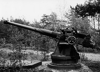 75mm 50 caliber Pattern 1892 - Finnish coastal artillery 75/50 C.