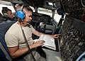U.S. Air Force Senior Airman Adam Cannon, an E-3 Sentry aircraft communication and navigation technician with the Sentry Aircraft Maintenance Unit, 380th Expeditionary Aircraft Maintenance Squadron, operates 140312-F-XR500-141.jpg