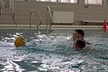 U.S. Marines with 1st Reconnaissance Battalion practice before the start of a water polo tournament at Al Asad Air Base, Iraq, March 15, 2009 090315-M-KL291-011.jpg