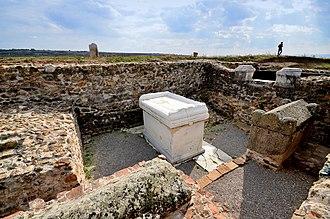 Ulpiana - Ulpiana excavation site.