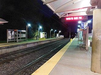 UMSL South station - UMSL South station, November 2016