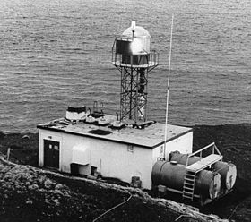 Phare du Cap Scotch en 1950