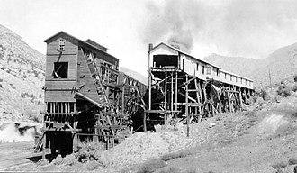 Sego, Utah - Chesterfield Coal Company in Sego, circa 1926.