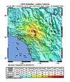 USGS ShakeMap - 1992 Landers earthquake.jpg