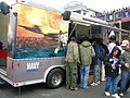 USNR recruiting trailer at SF Fleet Week 2009.JPG