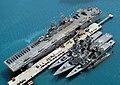 USS-Essex(LHD2) Shimakaze(DDG172) Myoko(DDG175) Hamagiri(DD155) Natsushio(SS584) DN-SD-05-00196crop.jpg