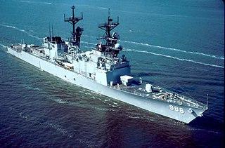 USS <i>Harry W. Hill</i> Spruance-class destroyer