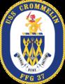 USS Crommelin FFG-37 Crest.png