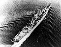 USS Des Moines (CA-134) underway during sea-trials, in 1948.jpg