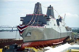 Avondale Shipyard - Image: USS Green Bay;10092001