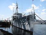 USS Joseph P Kennedy, Jr DD 850, Battleship Cove, Fall River MA.jpg