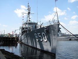 USS Joseph P Kennedy, Jr DD 850, Battleship Cove, Fall River MA.jpg