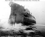 USS North Dakota being launched.jpg