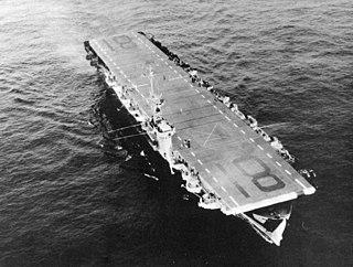 USS <i>Rudyerd Bay</i> Casablanca-class escort carrier of the US Navy