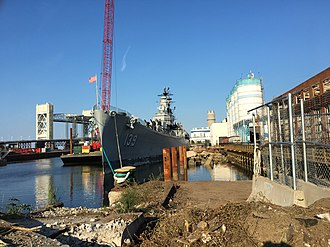 USS Salem (CA-139) - Image: USS Salem relocation August 2017