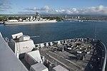 USS San Diego (LPD-22) pulls into Pearl Harbor on 23 January 2018 (180123-N-LQ799-118).JPG