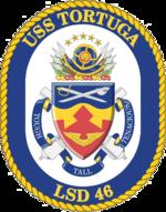 USS Tortuga LSD-46 Crest.png