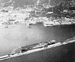 USS Valley Forge (CV-45) at Gibraltar in April 1948.jpg