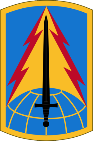 116th Military Intelligence Brigade (United States) - 116th MI Bde shoulder sleeve insignia
