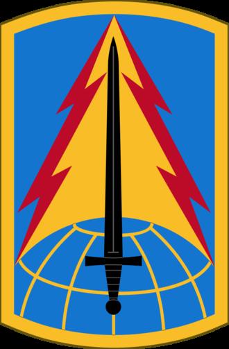 116th Military Intelligence Brigade (United States) - 116th MI Bde shoulder sleeve insignia
