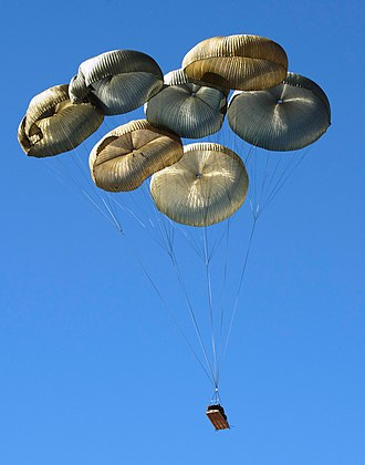 United States Army Test and Evaluation Command - and airdropped onto Sicily Drop Zone...
