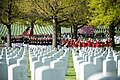 US Marines and attendees approach graveside service in Arlington National Cemetery 150427-A-ZZ999-009.jpg