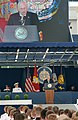 US Navy 060526-N-2383B-064 Vice President Dick Cheney delivers the commencement address to nine hundred-eighty Midshipmen.jpg