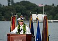 US Navy 061207-N-0879R-003 Commander, U.S. Pacific Fleet Adm. Gary Roughead address guests during a joint U.S. Navy-National Park Service ceremony.jpg