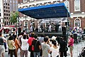 US Navy 080701-N-8110K-096 The Navy rock band, Rhode Island Sound, performs at the historic Quincy market in Boston on the opening day of Boston Navy Week.jpg