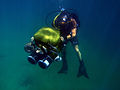 US Navy 090628-N-5710P-275 A U.S. Navy diver conducts a dive supporting Infinite Response 09, a bilateral exercise between the U.S. Navy and the naval forces of a Middle Eastern country.jpg