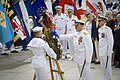 US Navy 110603-N-ZB612-061 Chief of Naval Operations (CNO) Adm. Gary Roughead participates in a wreath laying ceremony during a Battle of Midway co.jpg