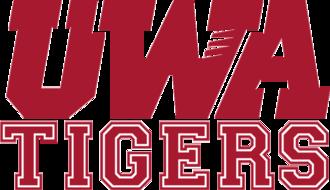 North Alabama–West Alabama football rivalry - Image: UWA Tigers wordmark