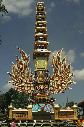 Negara: The Theatre State in Nineteenth-Century Bali - Balinese Cremation tower