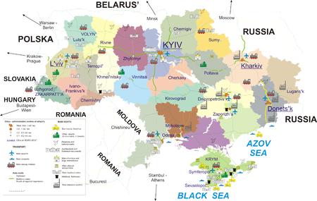 Carte Du Tourisme En Ukraine