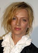 Uma Thurman at the Tribeca Film Festival cropped