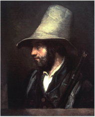 Un chasseur by Gustave Courbet.png