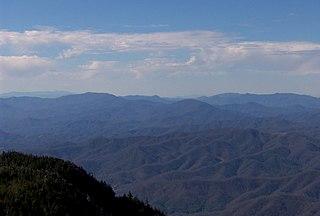 Unaka Range mountain in United States of America
