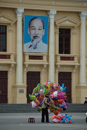 Haiphong Opera House - The facade of Haiphong Opera House