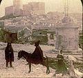Underwood & Underwood © 1906 No. 8571 - Salemi - Mediaeval castle of old Saracen masters of the land - dett.jpg