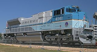 Union Pacific 4141 UP SD70ACe in George Bush 41 colors