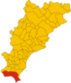 Unione dei comuni della Val Merula e di Montarosio (SV)-mappa.png