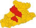 Unione dei comuni delle Valli Argentina e Armea-mappa (2018).png