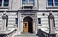 Université McGill, Macdonald-Harrington, 815, rue Sherbrooke Ouest, Montréal façade, l'entrée, pierre 11-d.na.civile-91-582.jpg