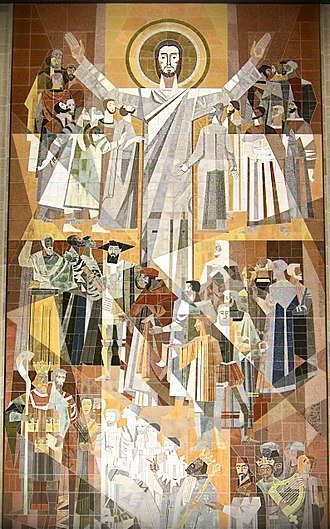 Hesburgh Library - The Word of Life mural
