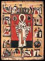 Unknown painter - St Nicholas with Scenes from his Life - WGA23496.jpg