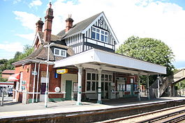 Up side booking office at Kingswood station.jpg