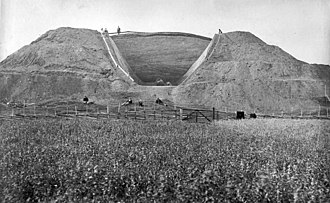 Gamla Uppsala - The 1874 excavation.